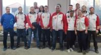 Das Team FC Friedrichshafen während der 3-tägigen Vorbereitung Februar 2020